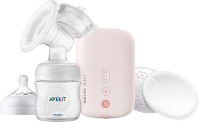 Philips Avent Elektrische Einzelmilchpumpe weiß