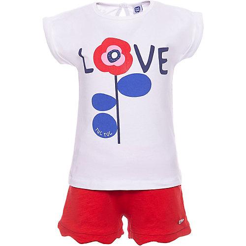 Комплект Tuc Tuc: футболка и шорты - красный от Tuc Tuc