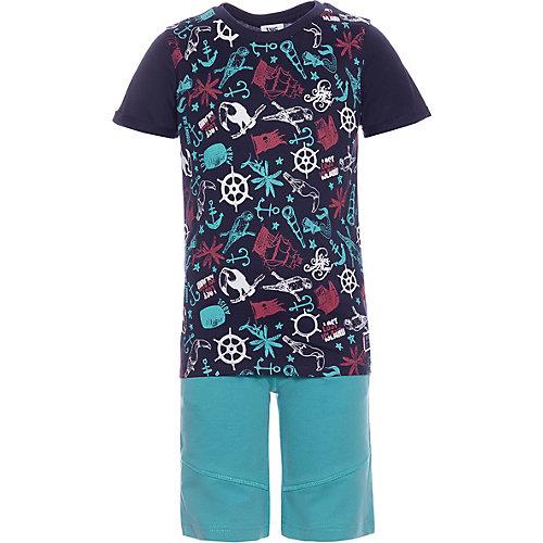 Комплект Tuc Tuc: футболка и шорты - синий от Tuc Tuc