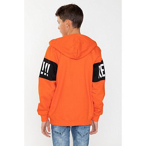 Толстовка Young Reporter - оранжевый от Young Reporter