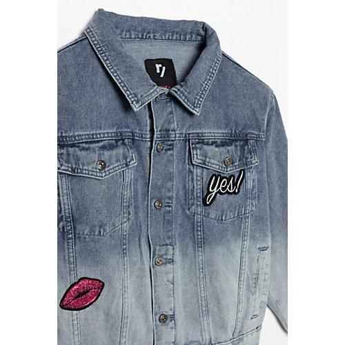 Джинсовая куртка Young Reporter - синий от Young Reporter