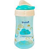 Поильник-непроливайка Uviton Baby, 360 мл, голубой