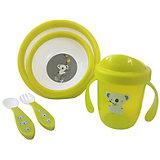 Набор посуды Uviton Baby, зелёный