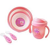 Набор посуды Uviton Baby, розовый