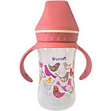 Бутылочка Uviton Baby с широким горлышком, 250 мл, розовый