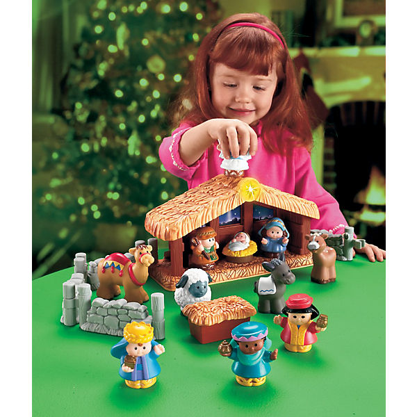 Pricing People: Little People - Krippe, Fisher Price