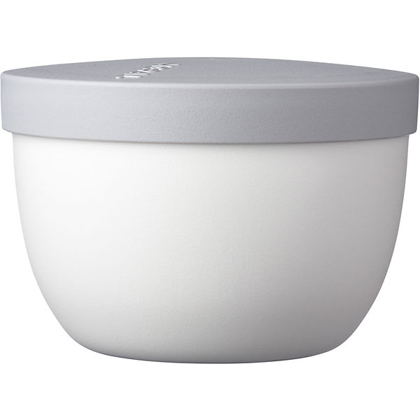Snackpot Ellipse weiß, 350 ml