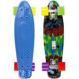 Скейтборд MaxCity Plastic Board Smash small