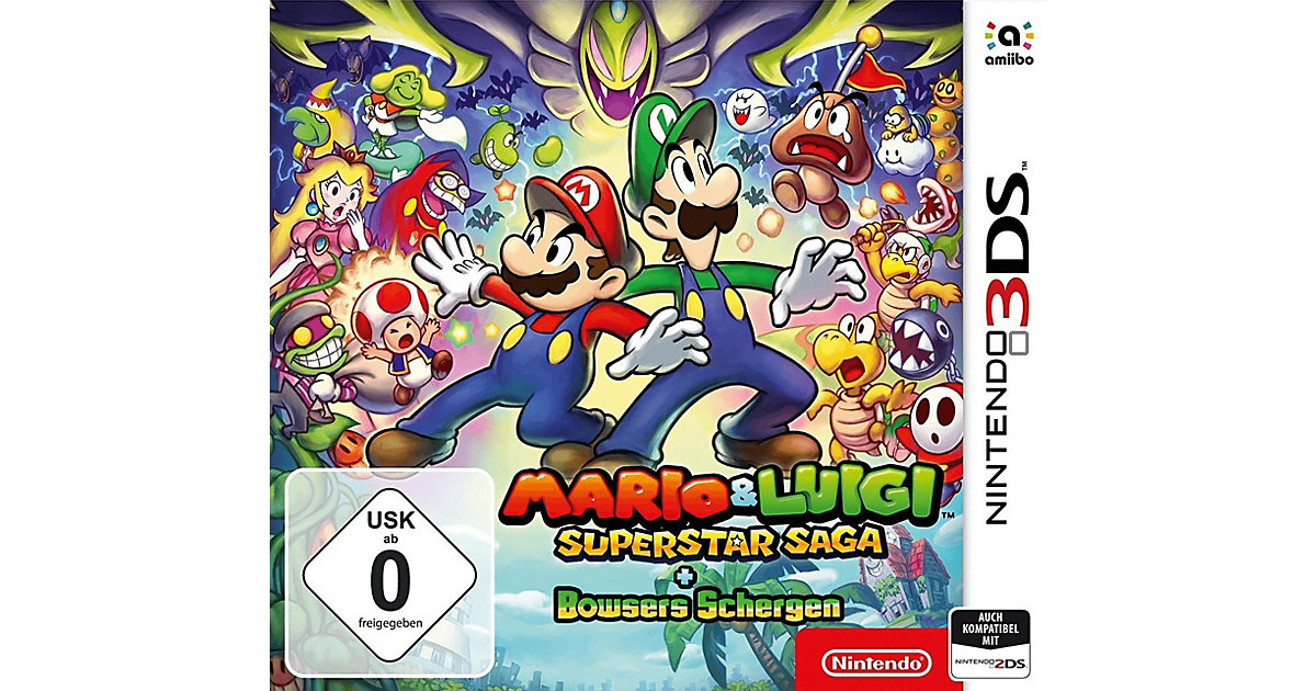 3DS Mario & Luigi Superstar Saga + Bowsers Schergen