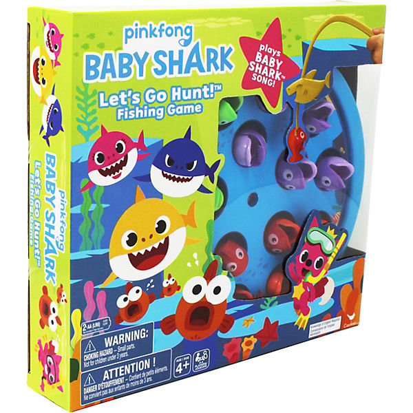 Pinkfong Baby Shark Let's Go Hunt-Angelspiel – spielt den Baby Shark-Song