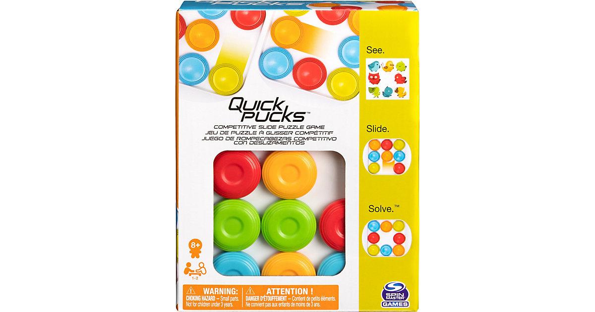 Spin Master Games Quick Pucks - Actionreicher Spielspaß Schnell-Schieber ab 8 Jahren  Kinder