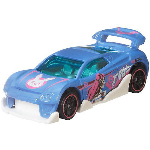 """Машинка Hot Wheels """"Герои кино"""" Overwatch D.Va, 1:64 от Mattel"""