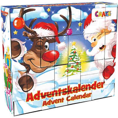 DIY Adventskalender Christmas 33 x 29,5 x 7,6cm