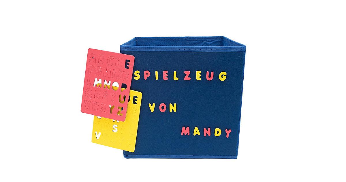 Image of Aufbewahrungsbox mit Buchstaben Paloma blau