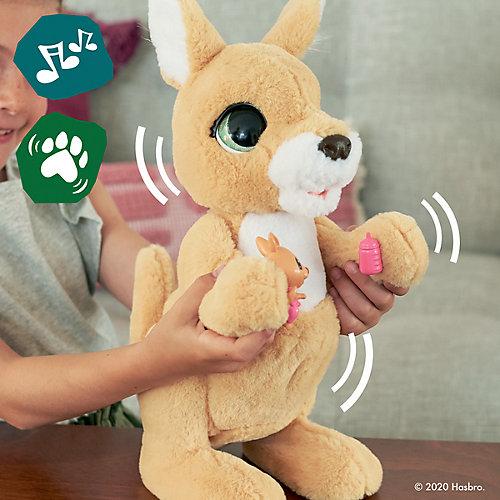 Интерактивная игрушка FurReal Friends Кенгуру Джози и ее малыши от Hasbro