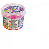 Гель Луч для слайма, розовый с блестками 85 мл