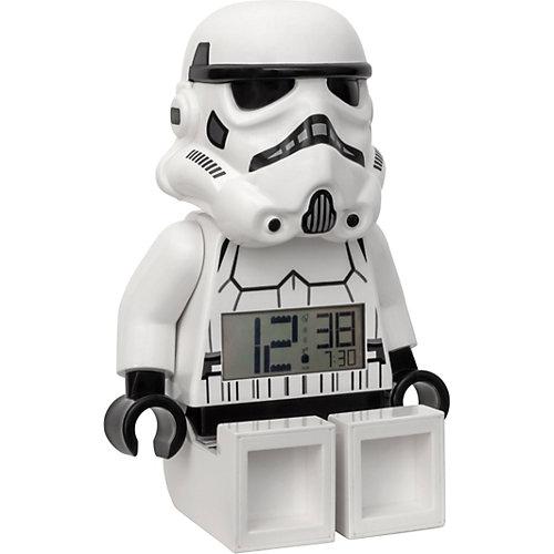 """Будильник LEGO Star Wars """"Минифигура Штормтрупер"""", свет/звук от LEGO"""