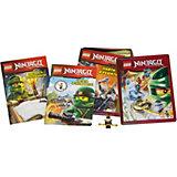 Набор книг LEGO Ninjago, с игрушкой
