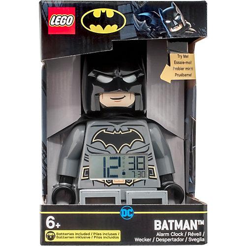 """Будильник LEGO DC Comics Super Heroes  """"Минифигура Бэтмен"""", свет/звук от LEGO"""