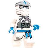 """Будильник LEGO Ninjago """"Минифигура Зейн"""", свет/звук"""