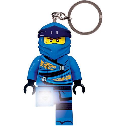 Брелок-фонарик LEGO Ninjago Jay, свет от LEGO