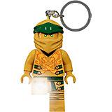 Брелок-фонарик LEGO Ninjago Gold Ninja, свет