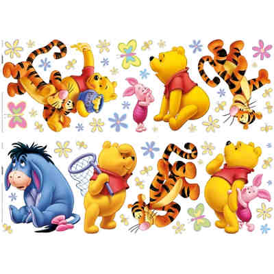 Wandsticker Winnie the Pooh Acre Wood