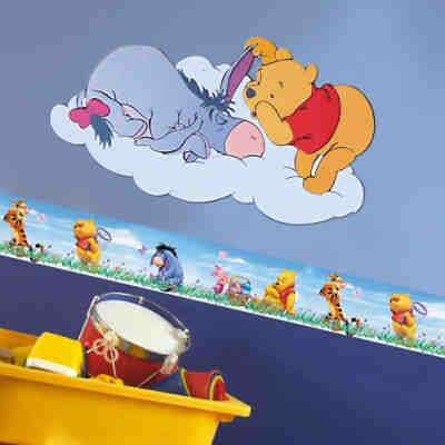 Wandsticker Winnie the Pooh Acre Wood, Disney Winnie Puuh | myToys