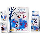 Папка для хранения с карточками Panini Холодное сердце 2, 6 пакетиков
