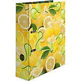 Папка картон a4 - лимон