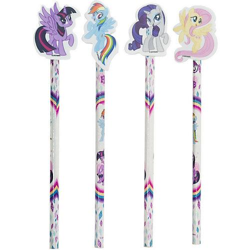 Карандаш ч/г My Little Pony с фигурным ластиком от Академия групп