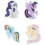 Набор фигурных коллекцинных ластиков My Little Pony 4шт