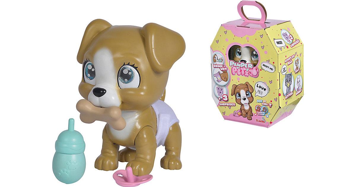 Pamper Petz Hund braun-kombi