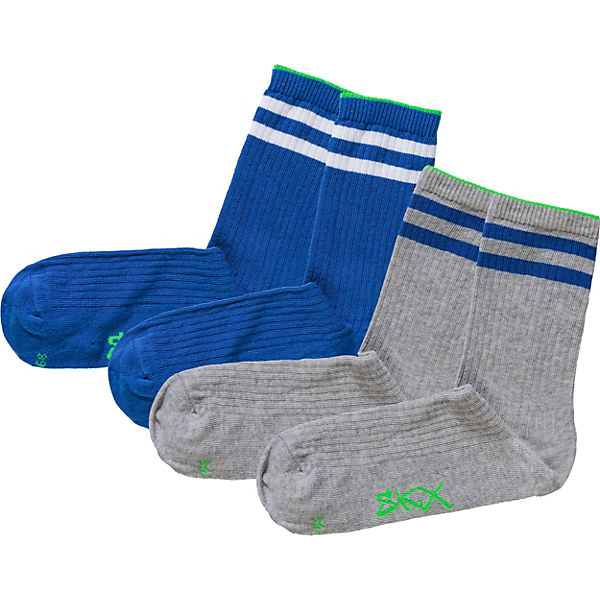 Sneakersocken 2er-Pack