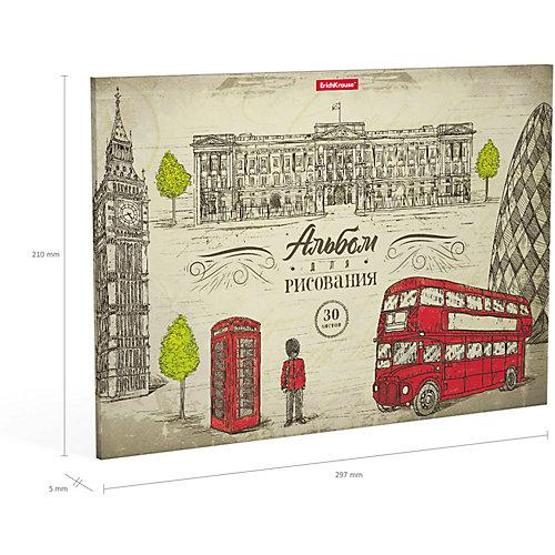 Альбом для рисования Erich Krause Great Britain от Erich Krause