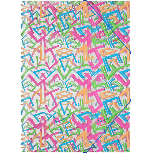 Папка на резинках Erich Krause Lines от Erich Krause