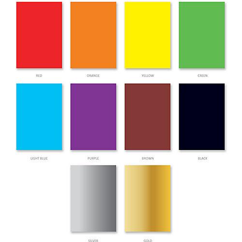 Цветной картон мелованный Erich Krause Art Berry, 10 цветов от Erich Krause