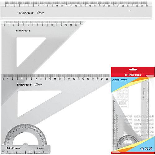 Набор геометрический большой Erich Krause Clear от Erich Krause