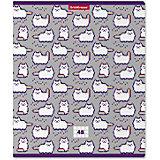 Тетрадь общая ученическая Erich Krause Pixel Cat