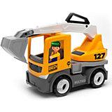 Машинка Efko Строительный грузовик-экскаватор с водителем, 22 см