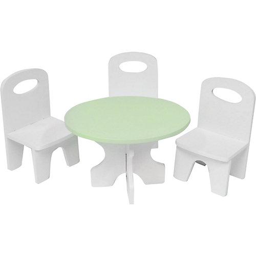 """Набор мебели для кукол Paremo """"Классика"""" Стол и стулья от PAREMO"""