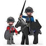 Игровой набор Efko Два рыцаря и конь