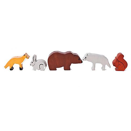 Набор фигурок Paremo Дикие животные, 5 шт от PAREMO