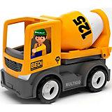 Машинка Efko Строительный грузовик-бетономешалка с водителем, 22 см