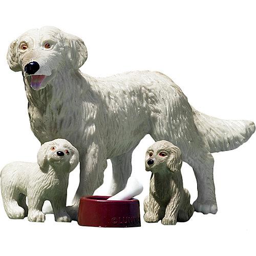 """Игровой набор Lundby """"Пёс со щенками"""", 1:18 от Lundby"""