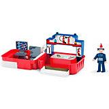 Игровой набор Efko Пожарная станция с фигуркой пожарного