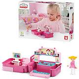 Игровой набор Efko Детская комната с фигуркой девочки