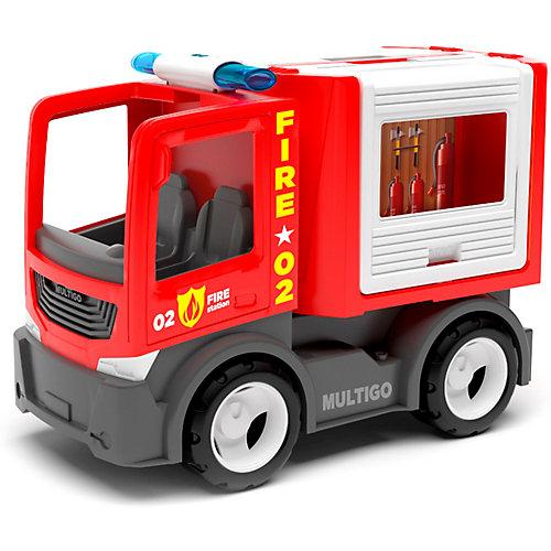 Машинка Efko Пожарный автомобиль для команды, 22 см от Efko