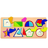 Рамка-вкладыш Paremo Фигуры и цвета, 16 элементов