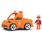 Машинка Efko Автомобиль дорожной службы с водителем, 17 см